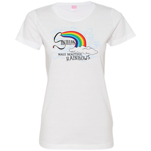 """Spectrums Make Beautiful Rainbows"" Ladies' Tee-Shirt"