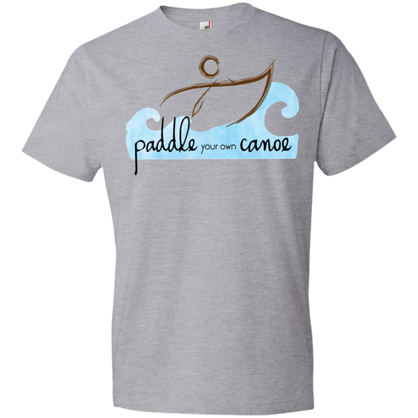 """Paddle Your Own Canoe"" Mens' Tee-Shirt"