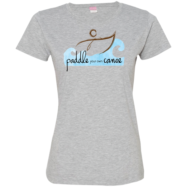 """Paddle Your Own Canoe"" Ladies' Tee-Shirt"