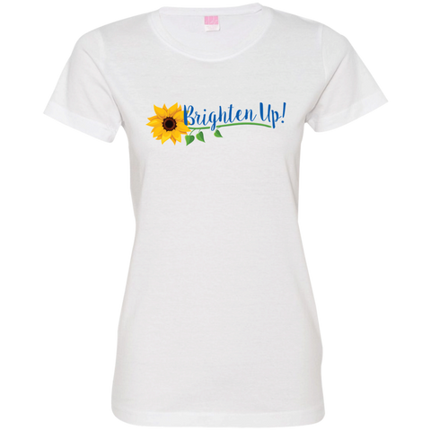 """Brighten Up!"" Ladies' Tee-Shirt"