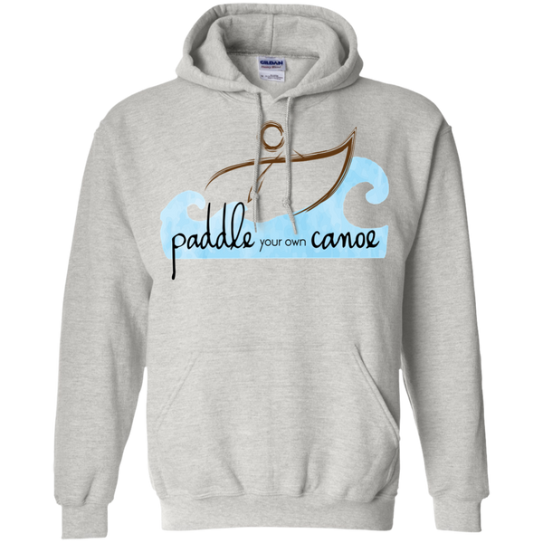 """Paddle Your Own Canoe"" Mens' Hoodie"