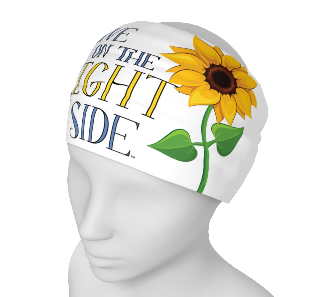 """Live on the Bright Side"" Headband"