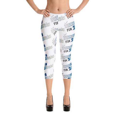 """Perspiration for Inspiration"" Capri Leggings"