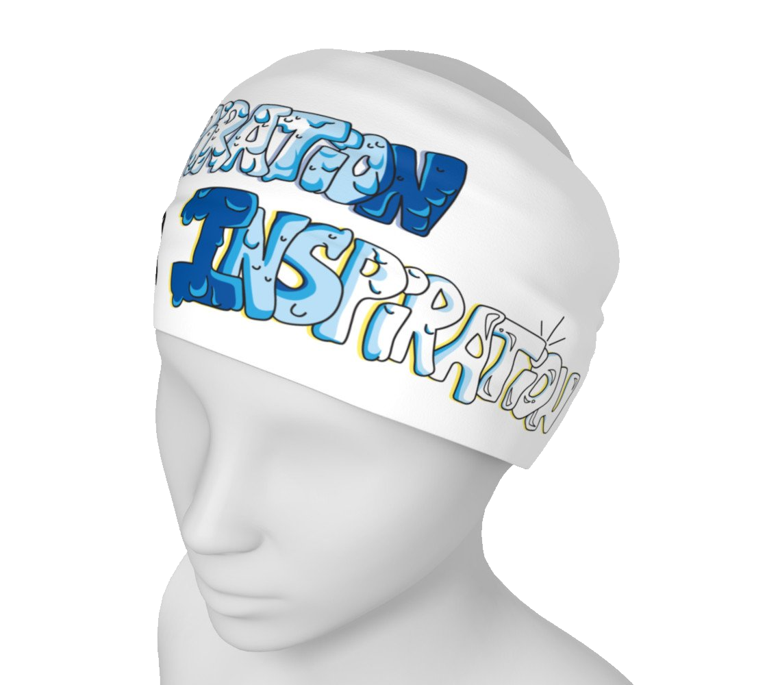 """Perspiration for Inspiration"" Headband"