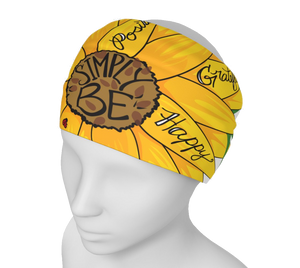 """Simply Be"" (Sunflower) Headband"