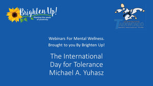 Webinar: The International Day for Tolerance