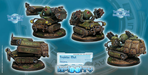 INFINITY - ARIADNA: TRAKTOR MULS. REGIMENT OF ARTILLERY AND SUPPORT