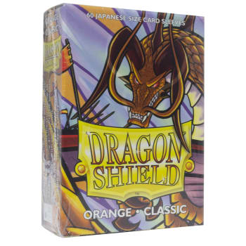 Dragon Shield Sleeves: Japanese Classic Orange (60)
