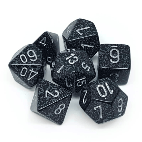 7 Count Dice Set: Speckled