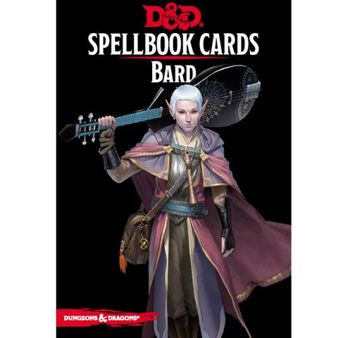 DUNGEONS AND DRAGONS: SPELLBOOK CARDS - BARD DECK