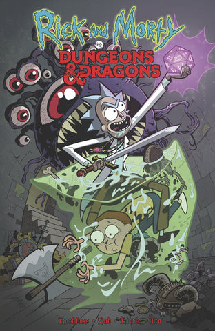 RICK AND MORTY VS DUNGEONS & DRAGONS TP VOL 01 (C: 1-0-0)