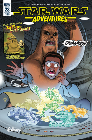 STAR WARS ADVENTURES #23 CVR A FLEECS (C: 1-0-0)