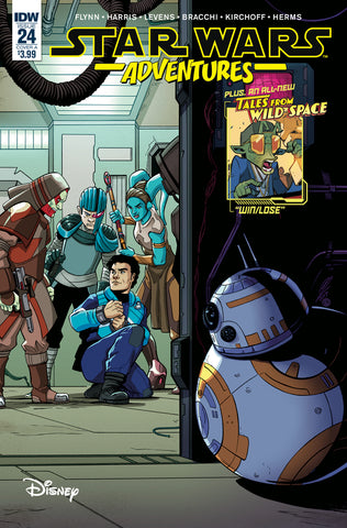 STAR WARS ADVENTURES #24 CVR A LEVENS (C: 1-0-0)