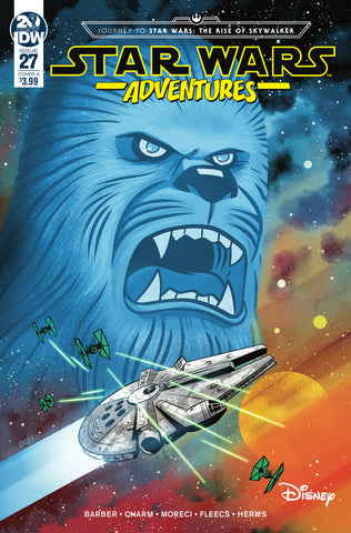 STAR WARS ADVENTURES #27 CVR A CHARM (C: 1-0-0)