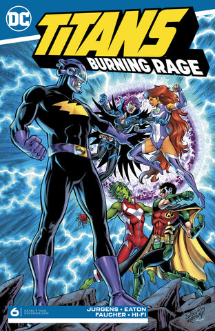 TITANS BURNING RAGE #6 (OF 7)
