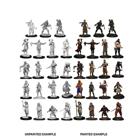 DEEP CUTS UNPAINTED MINIATURES: TOWNSPEOPLE