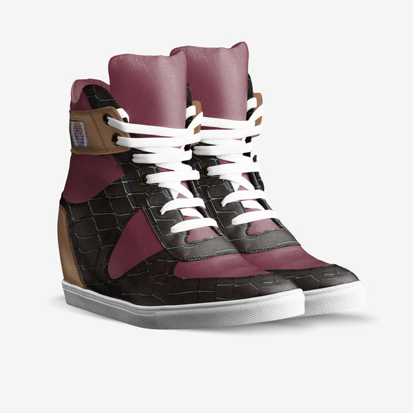 BOSS Female Wedge Sneaker