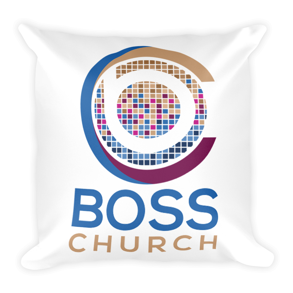 BOSS Church Square Pillow