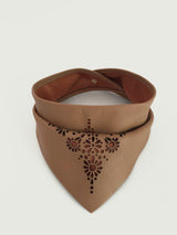 DIAMOND LEATHER BANDANA