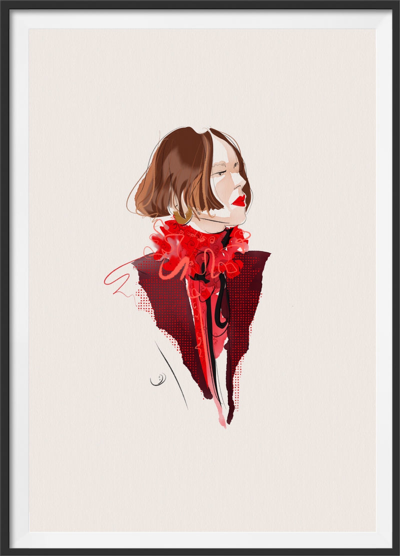 SAINT LAURENT giclée print
