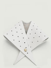 MINIDOT LEATHER BANDANA
