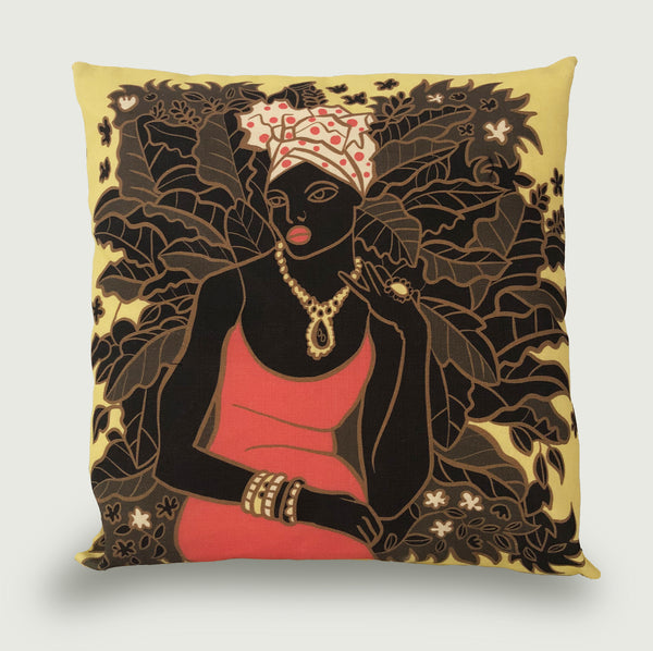 'ZHARA' COLOUR CUSHION COVER