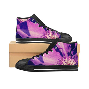Violet Stars Women's High-top Sneakers