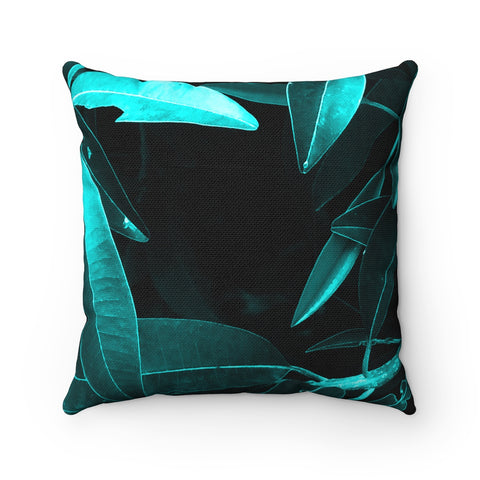 Tropical Lust II Spun Polyester Square Pillow