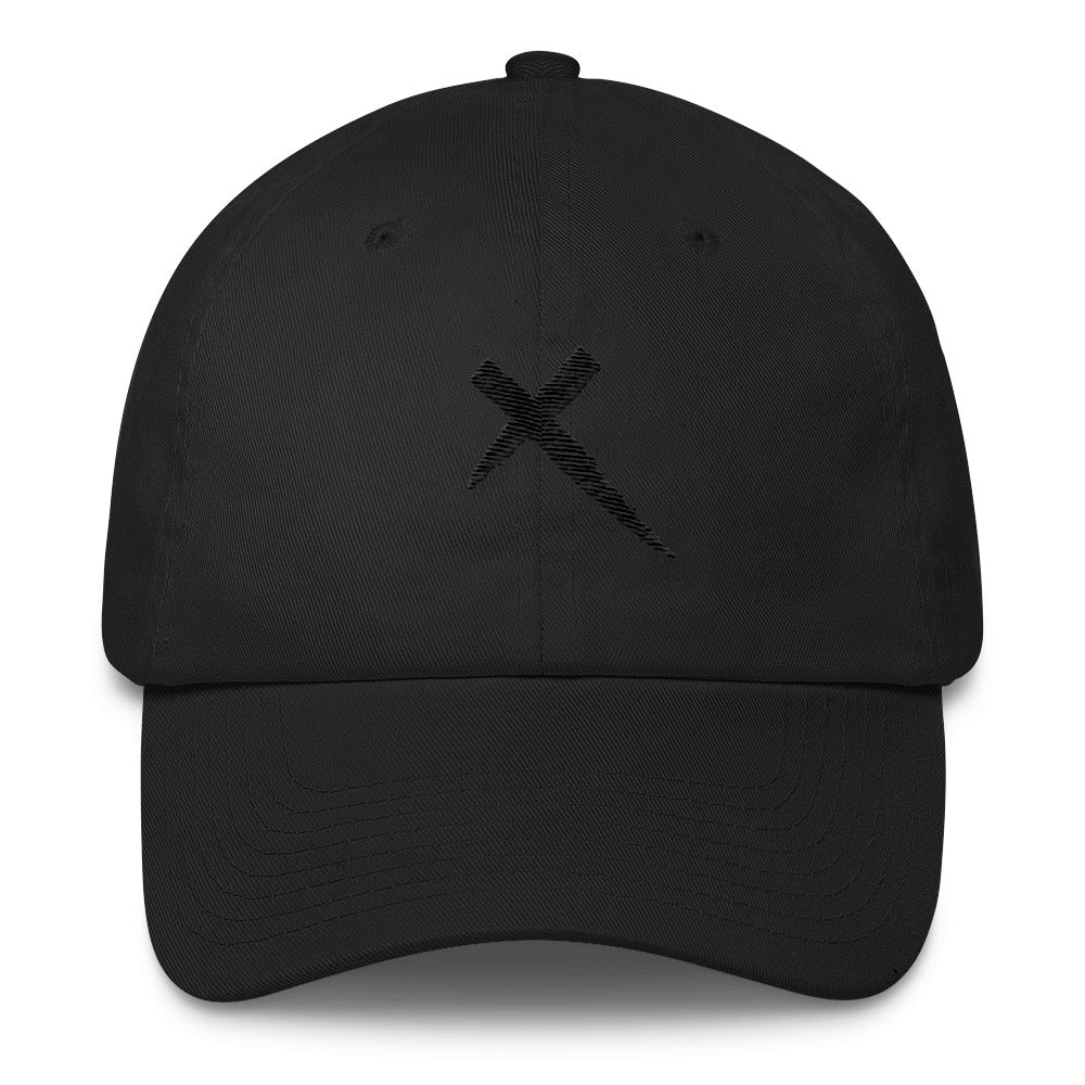 Black X Cotton Cap