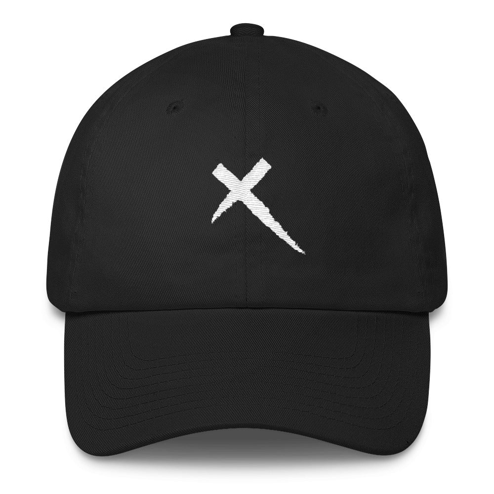 White X Cotton Cap