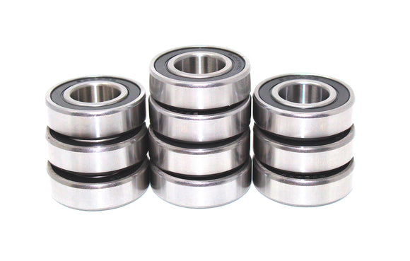 10 Pack Snowmobile Bearings 6004-2RS 20x42x12 6004RS - Five Year Warranty