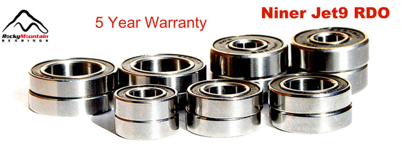 Niner Jet 9 RDO Suspension Pivot Frame Bearing Kit 2012 2013 2014 2015 2016
