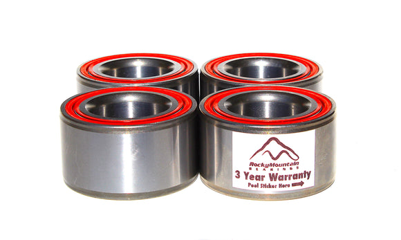 Polaris RZR 800 2008 2009 and RZR S 800 Wheel Bearings Front and Rear - Exceeds OEM - Fits stock hubs