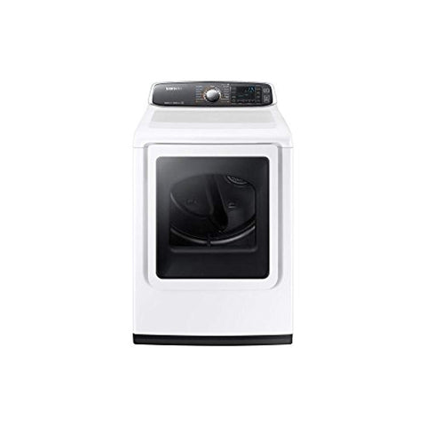 Samsung DV52J8060GW 7.4 Cu. Ft. White With Steam Cycle Gas Dryer - Energy Star