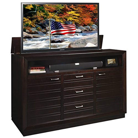 Concord TV Cabinet, X-Large, BrownTV stand