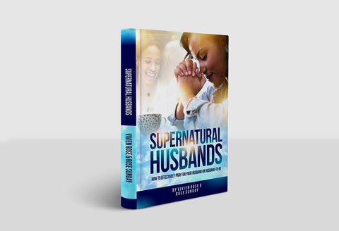 PAPERBACK Supernatural Husbands - how to effectively pray for your husband or husband-to-be
