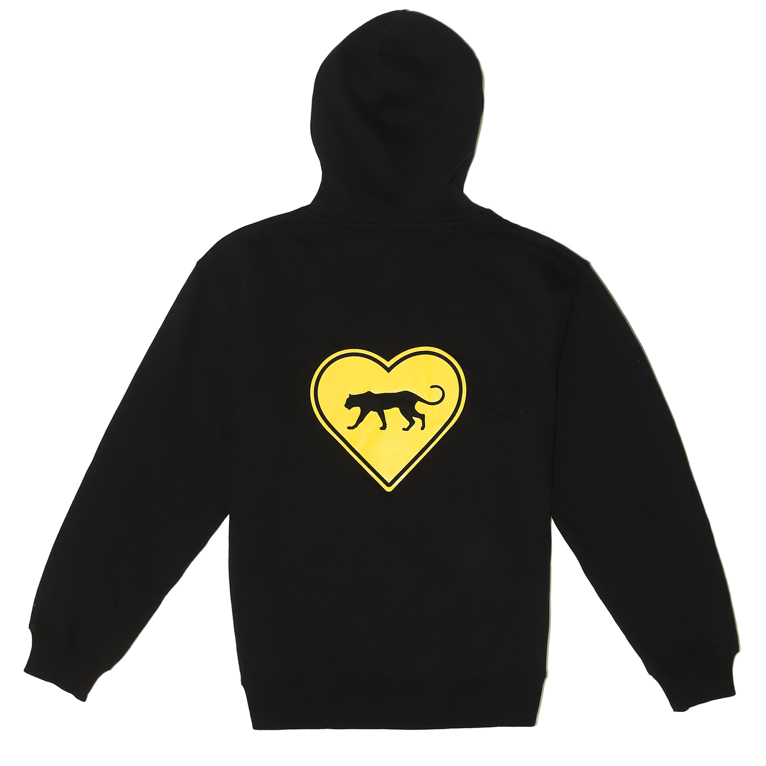 FREE THE ANIMALS™ Black Leopard Hoodie
