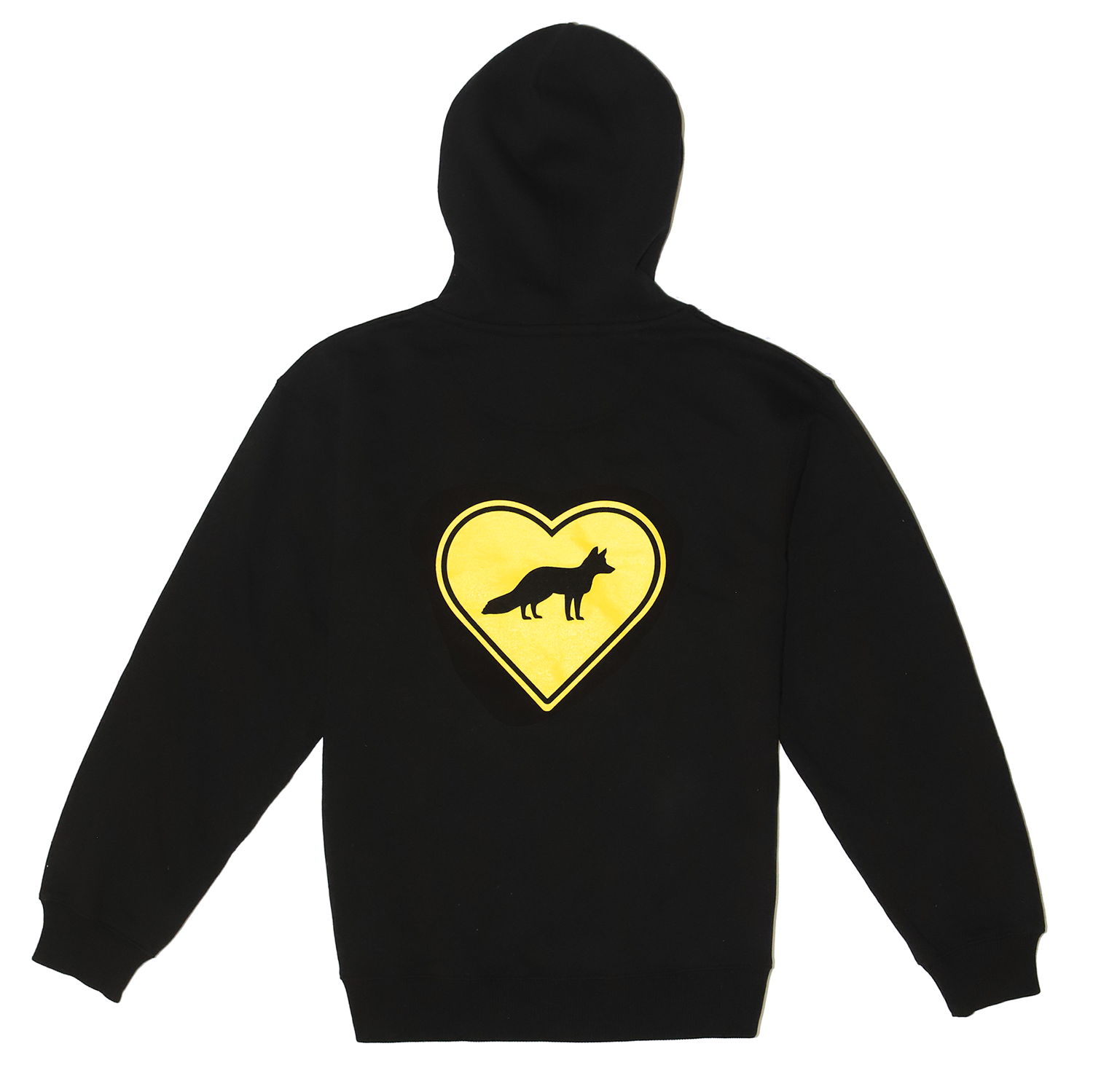 FREE THE ANIMALS™ Black Fox Hoodie - House of Fluff