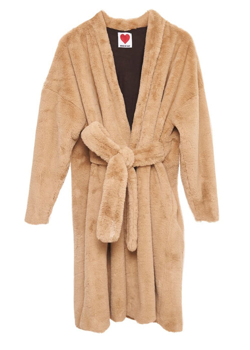 Bathrobe Wrap Coat