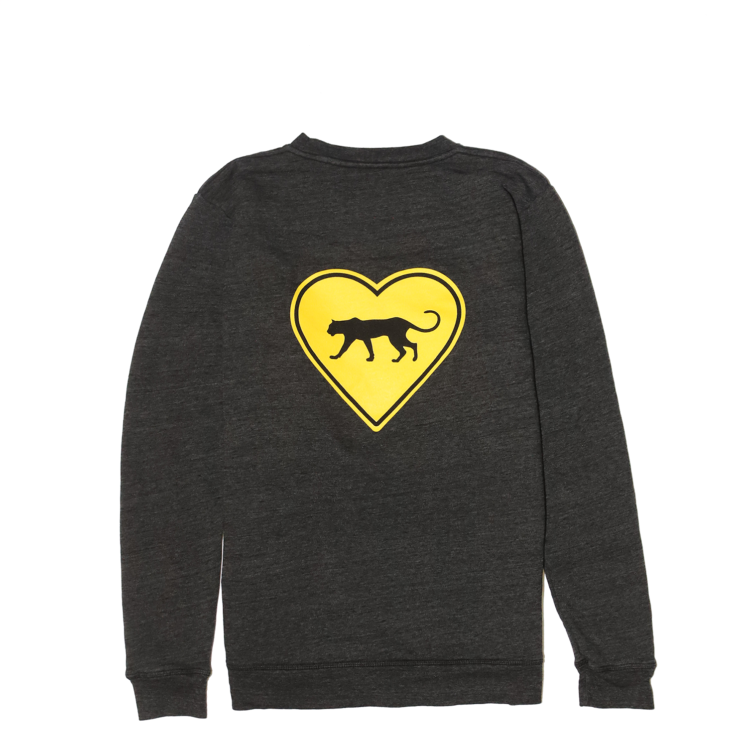 FREE THE ANIMALS™ Grey Leopard Crewneck - House of Fluff