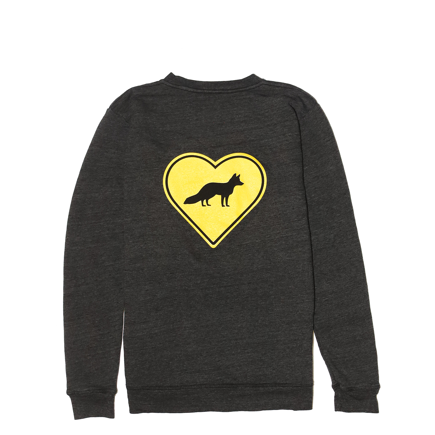 FREE THE ANIMALS™ Grey Fox Crewneck