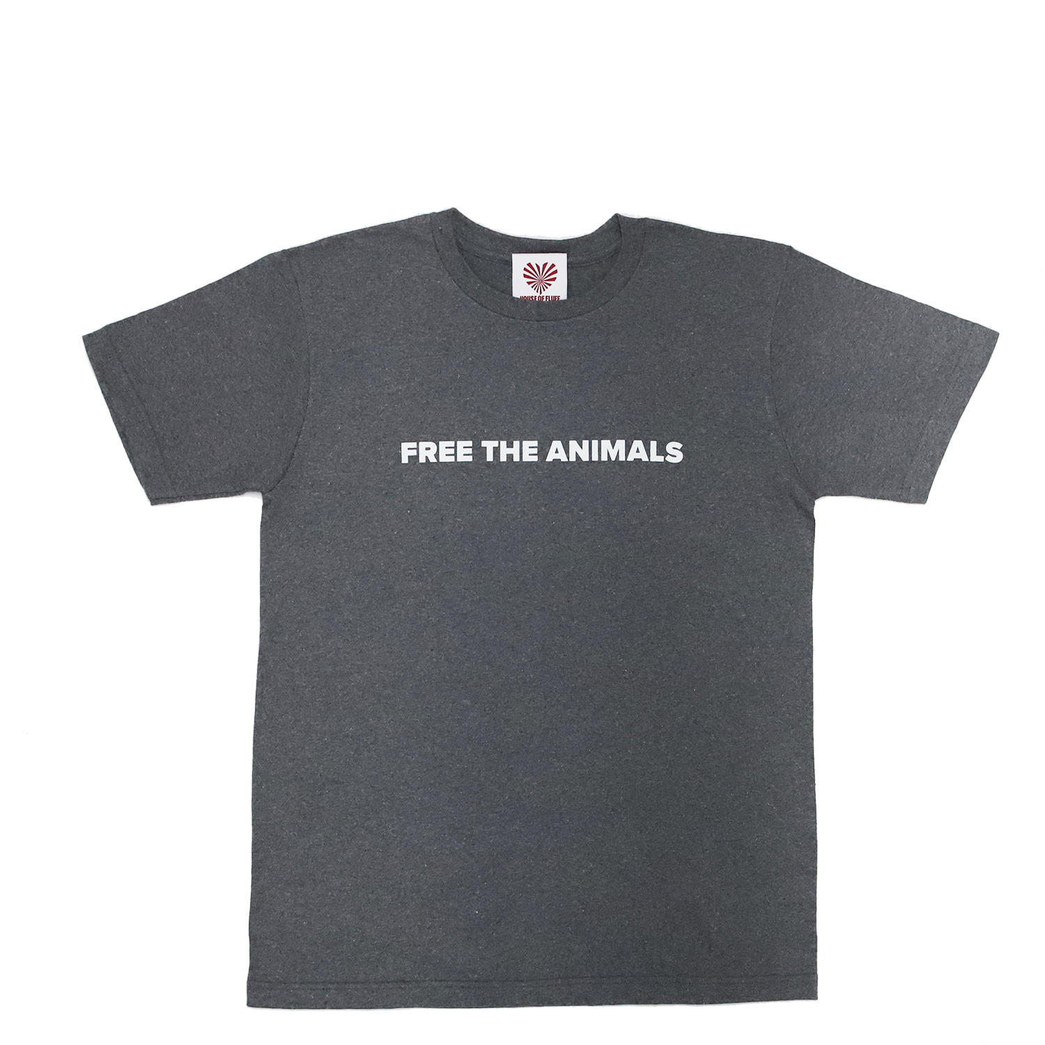 FREE THE ANIMALS™ Grey Snake Tee
