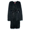 Black Yeti Cardigan Coat