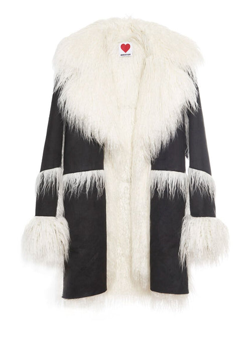 Vegan Shearling Coat