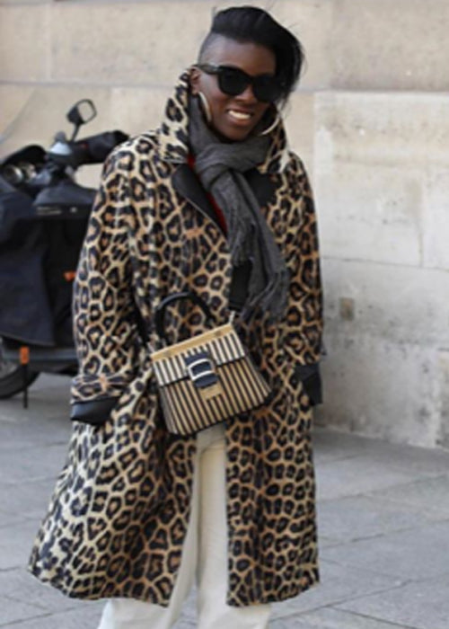 Leopard Car Coat - House of Fluff