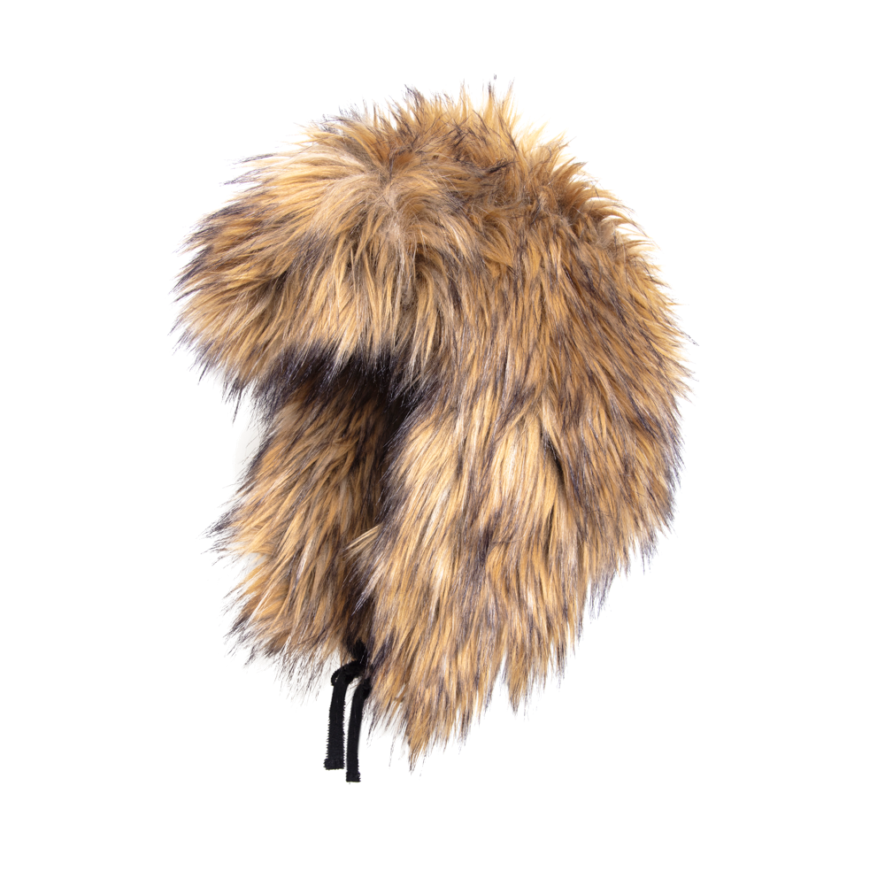 Coyote Hair Trapper Hat