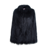 Yeti Convertible Cape Coat - Black - House of Fluff
