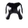 Black & White Colobus Bolero - House of Fluff
