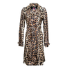 Classic Leopard Trench Coat - House of Fluff