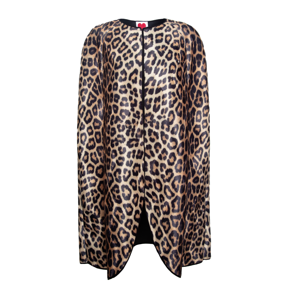 Collarless Leopard Cape